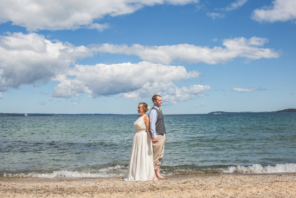 traverse city, michigan wedding: jordan & spencer
