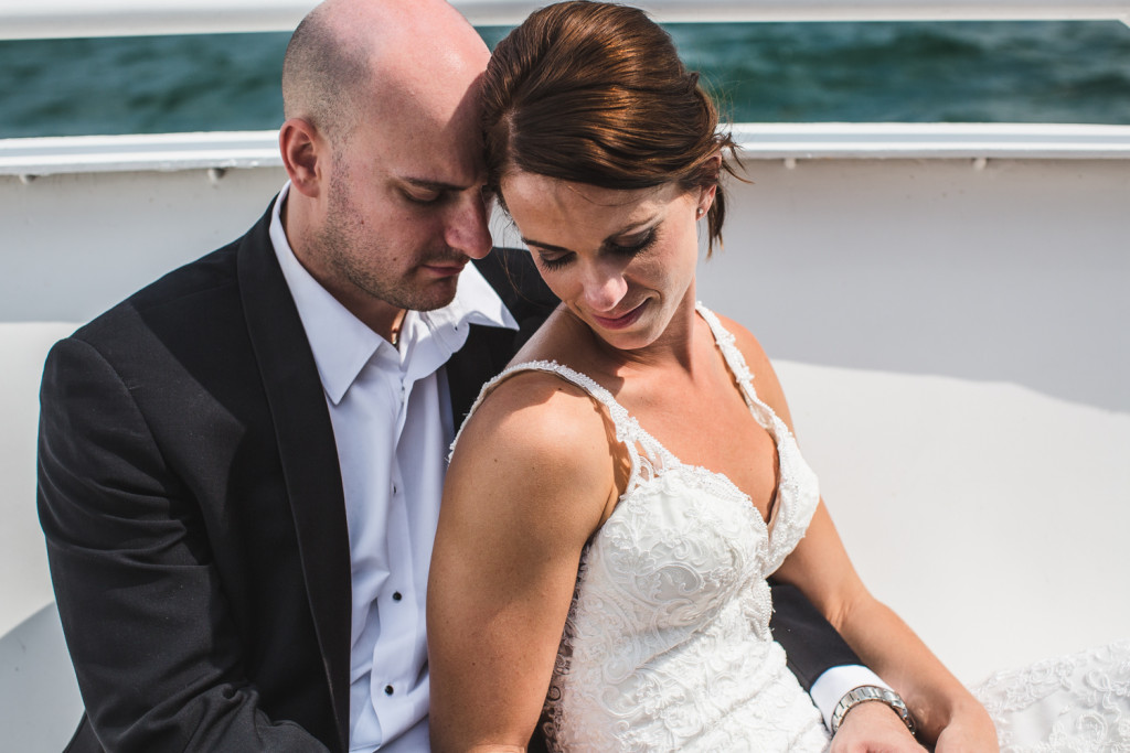 Detroit, Michigan Wedding at Jefferson Beach Marina: Eric + Kelli