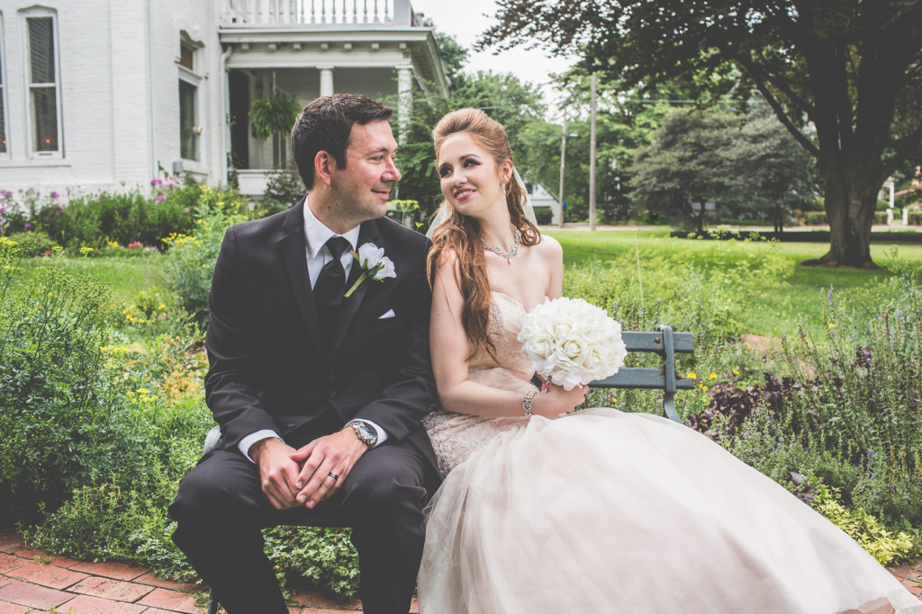 Farmington, Michigan Wedding at Warner Mansion: Hannah + Aaron