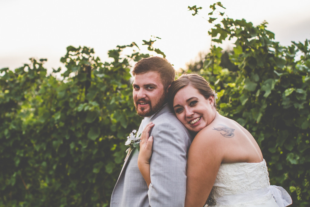 Suttons Bay, Michigan Wedding at Black Star Farms: Kati + Scott