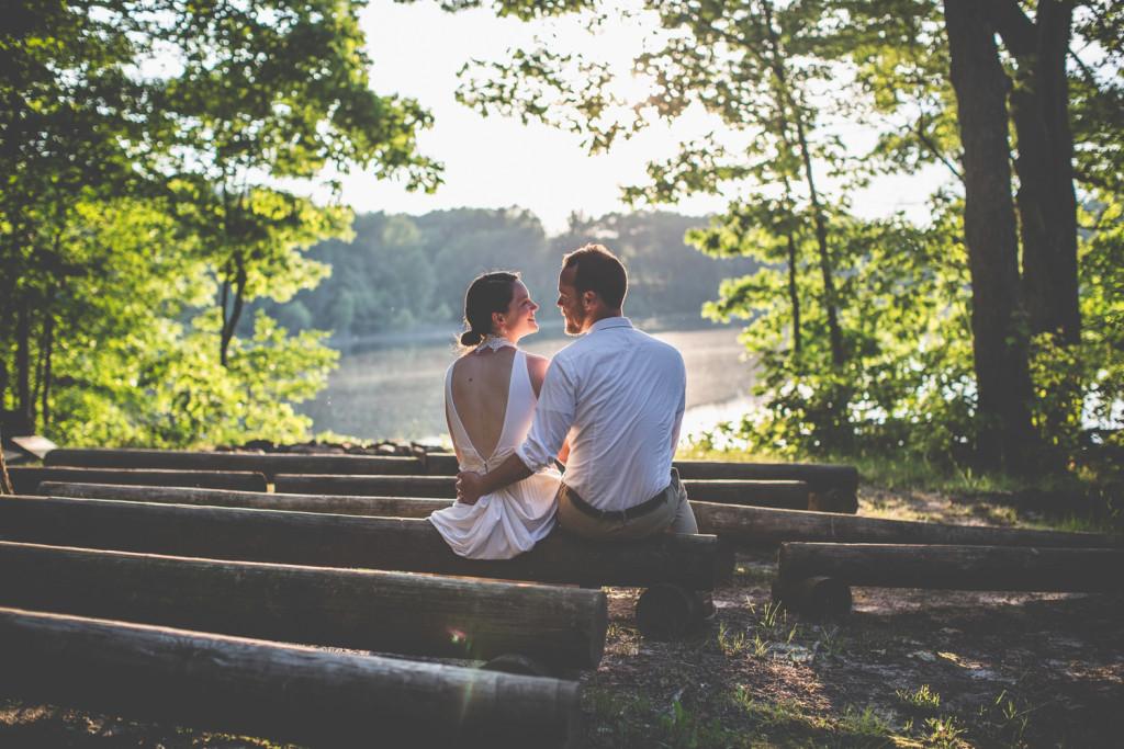 Plainwell, Michigan Camp Wedding at Camp Merrie Woode: Jessica + Tim